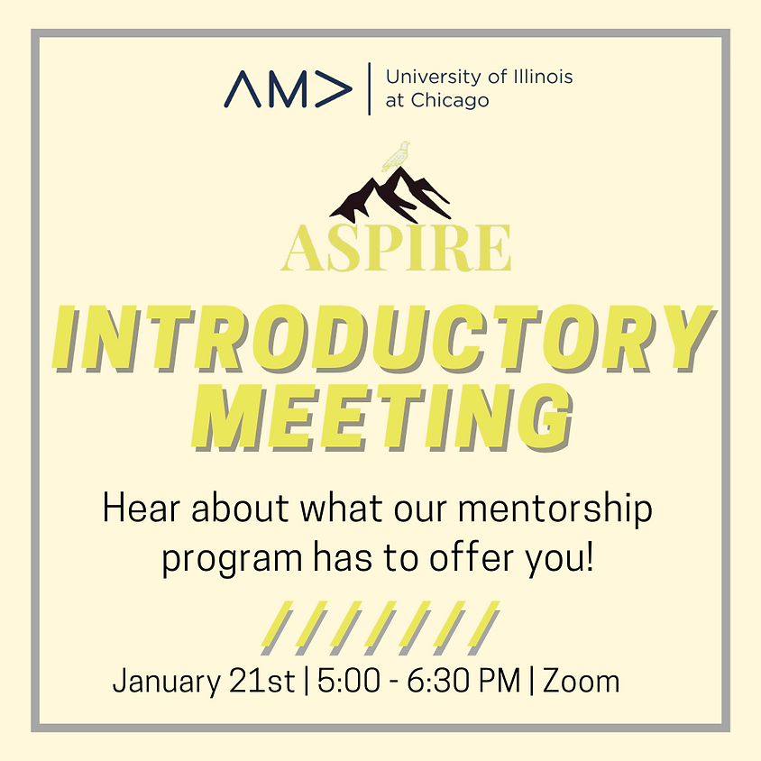 Aspire Introductory Meeting