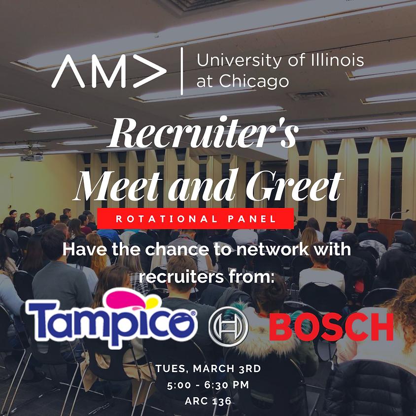 Recruiter's Meet & Greet Rotational Panel