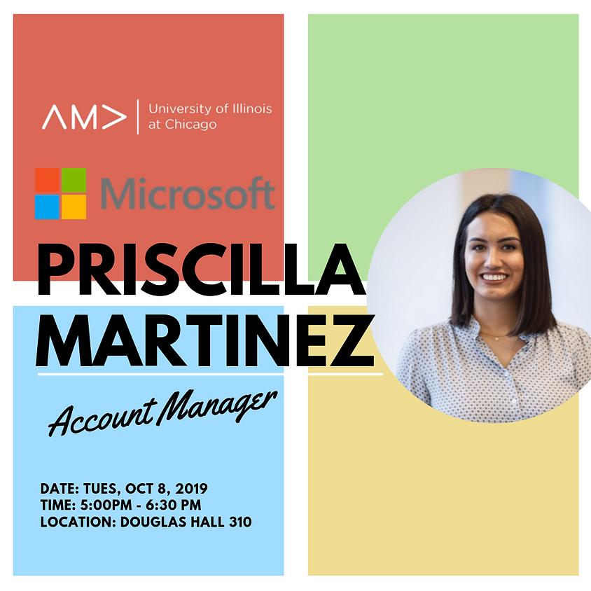 An Evening With Priscilla Martinez - Microsoft