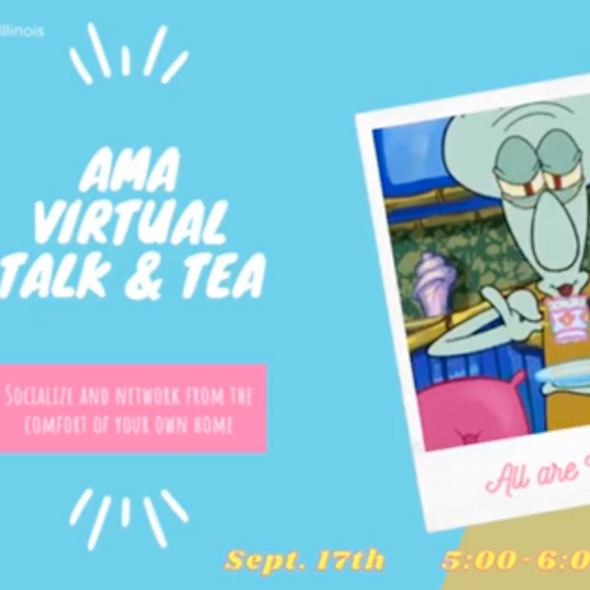 AMA Talk Social (Coffee & Tea)
