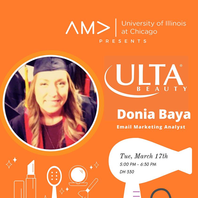 An Evening w/ Donia Baya - Ulta Beauty