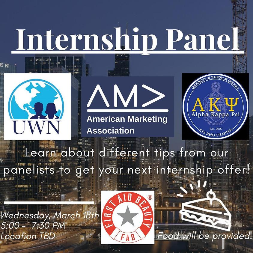 AMA & UWN & AKPsi Internship Panel