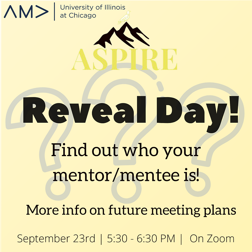 Aspire Reveal Day