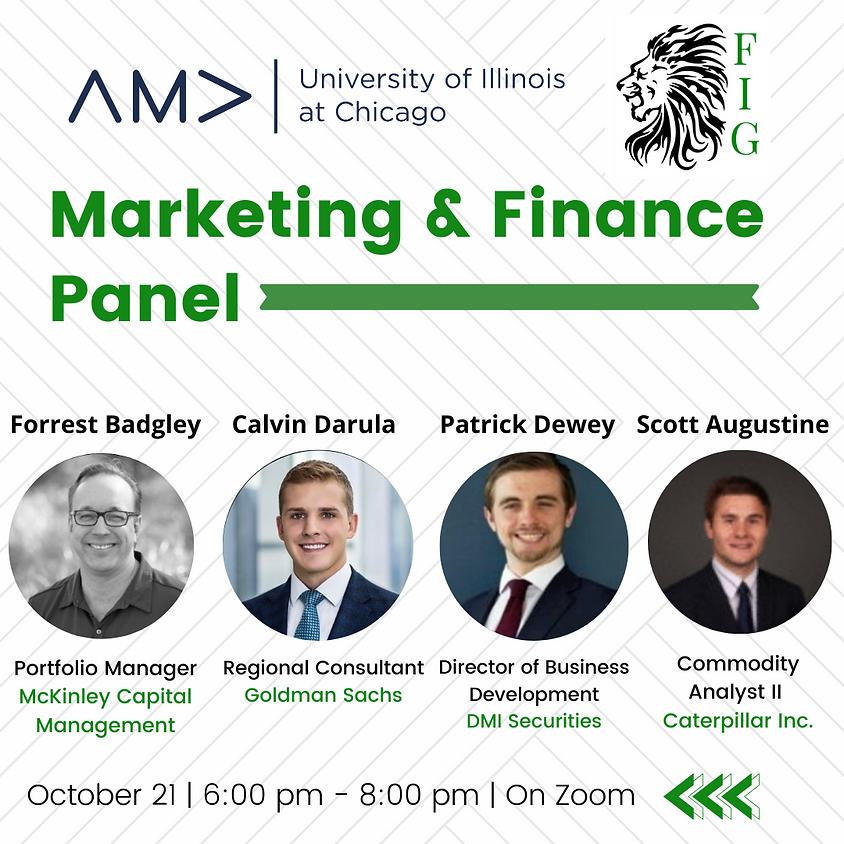 Marketing X Finance Panel w/ FIG