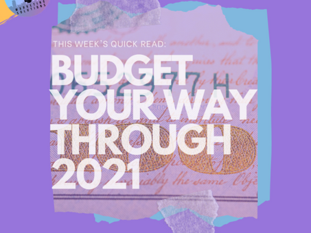 Budget Your Way Through 2021