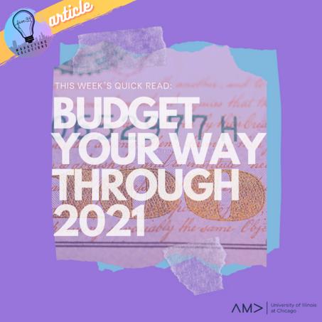 Budget Your Way Through 2021