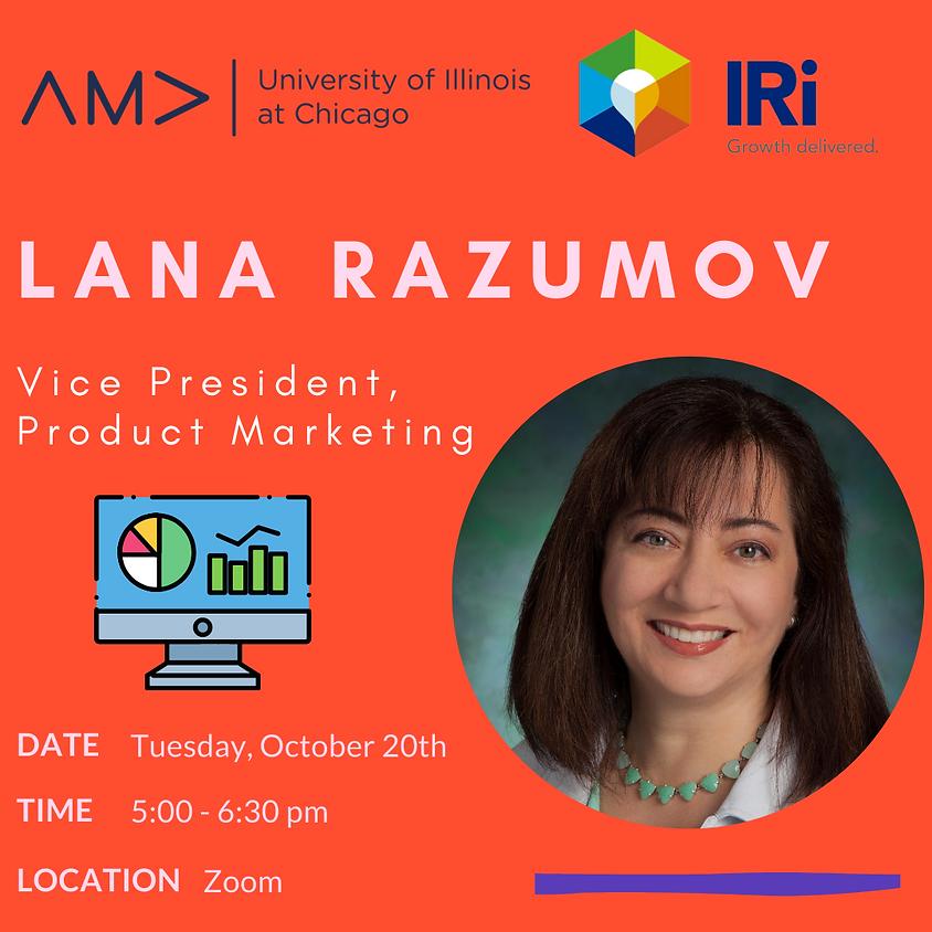 Lana Razumov - VP of Product Marketing at IRI