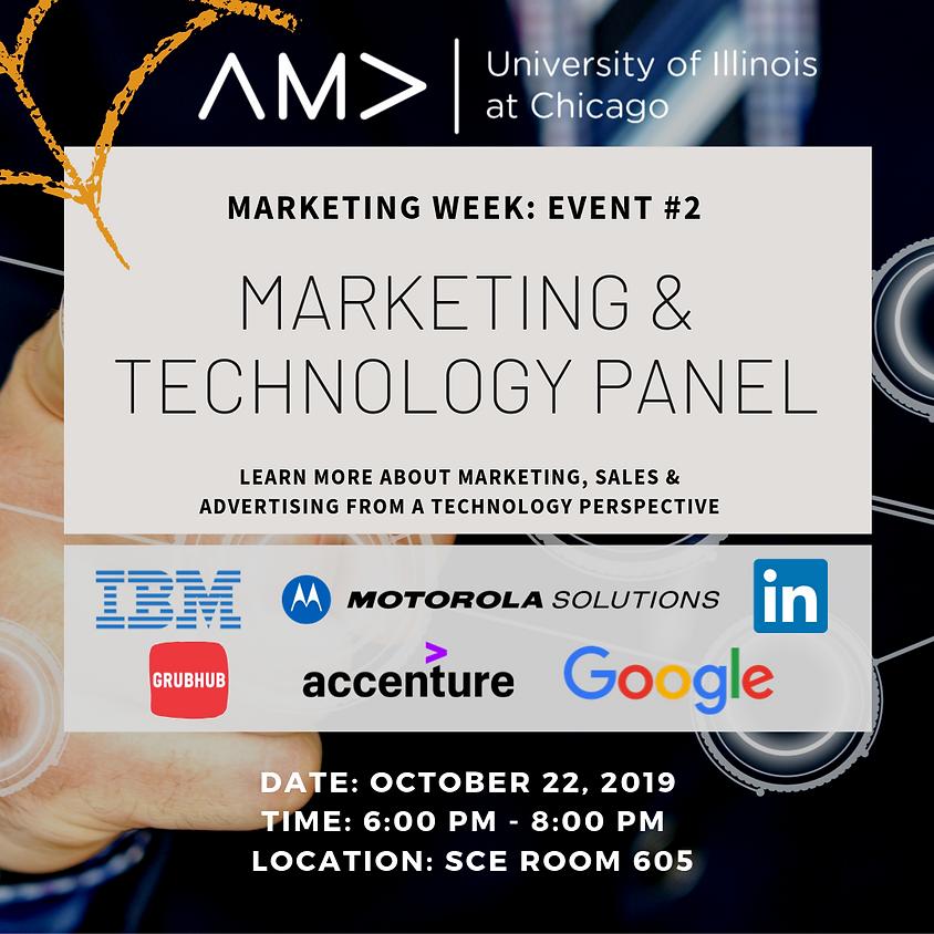 Marketing Week: Marketing & Technology Panel