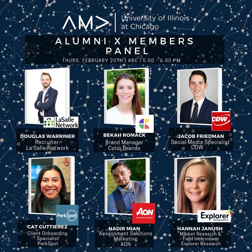 Alumni X Members Panel