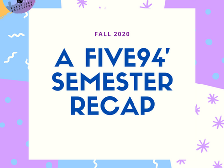 The End Of An Era - Fall Semester Recap
