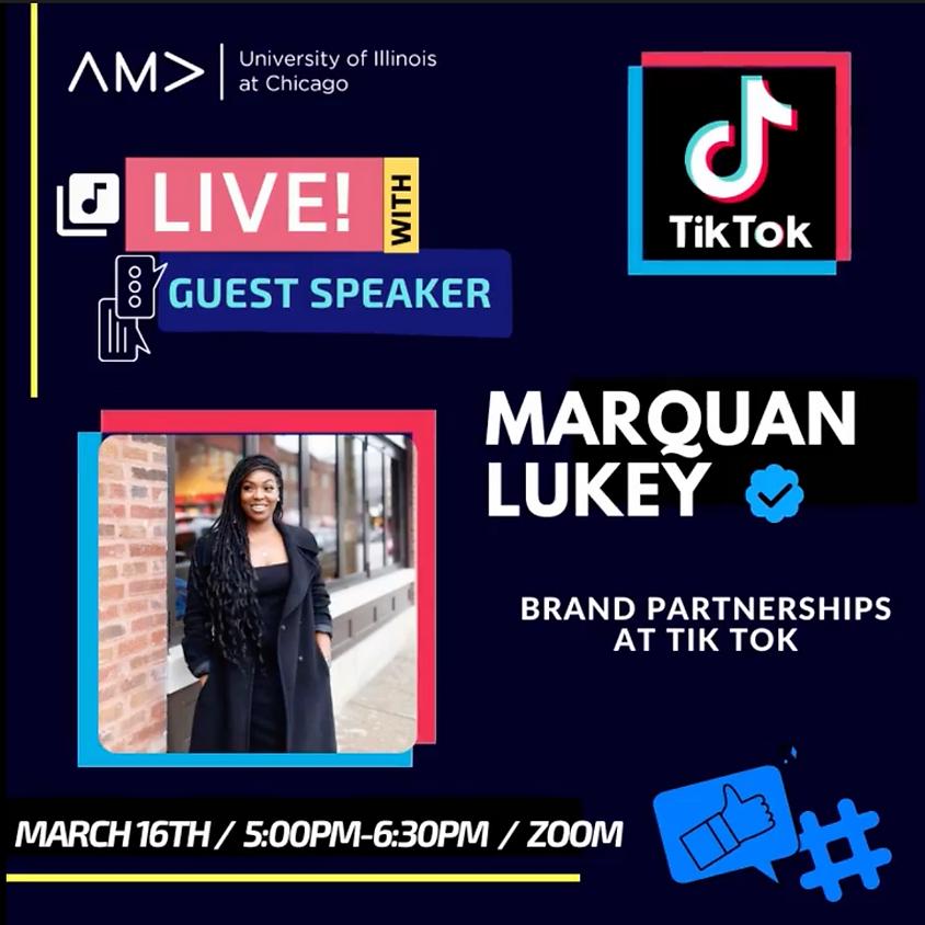 Marquan Luckey Brand Partnerships at Tiktok