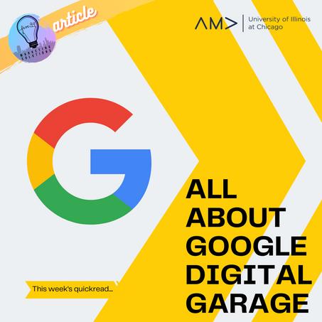 All About Google Digital Garage