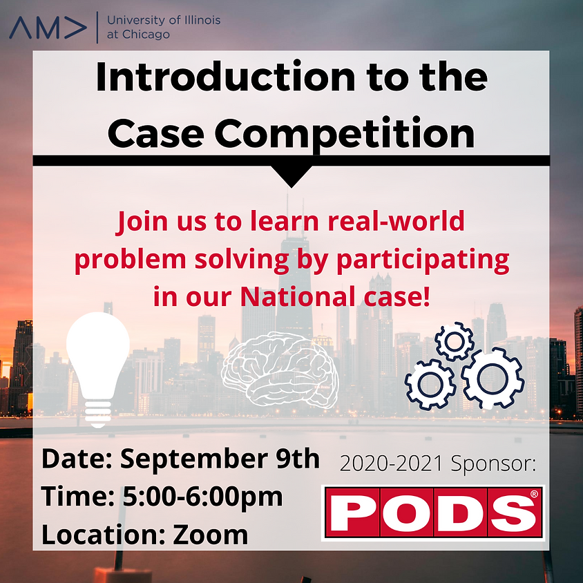 Case Comp. Intro Meeting