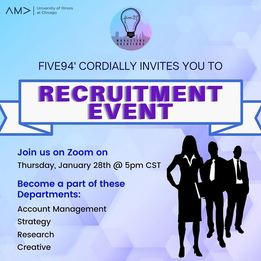 Five94' Recruitment Event