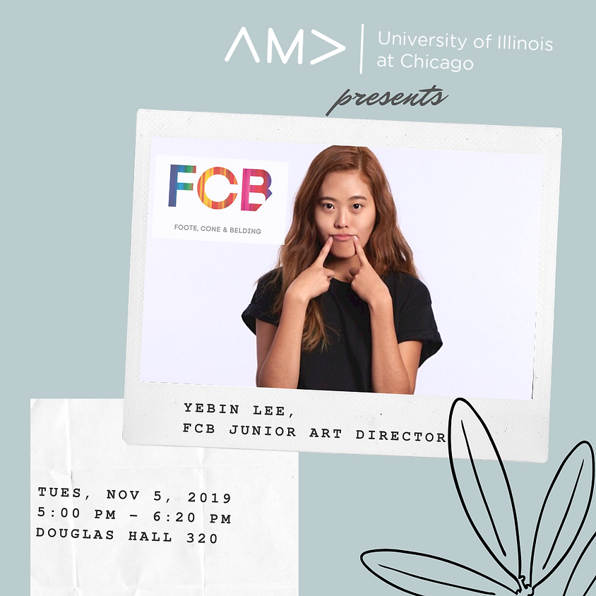An Evening with Yebin Lee - FCB Advertising