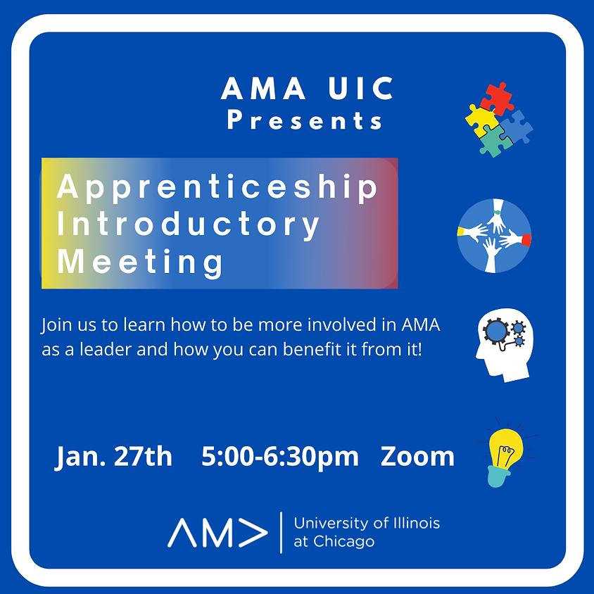 Apprenticeship Intro
