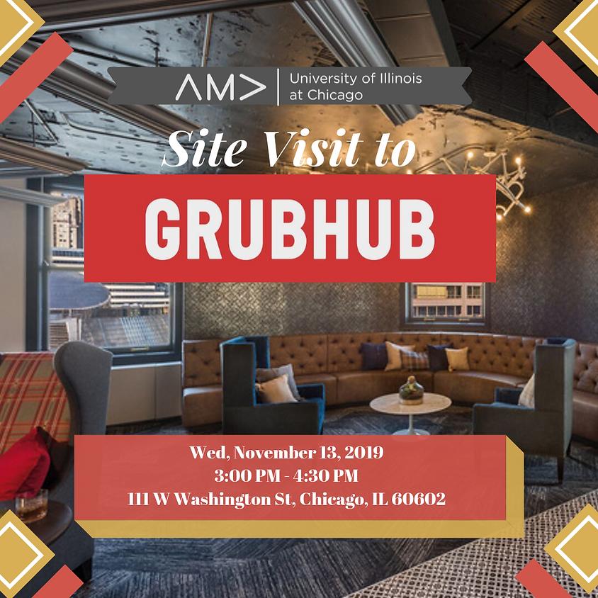 Site Visit to Grub Hub