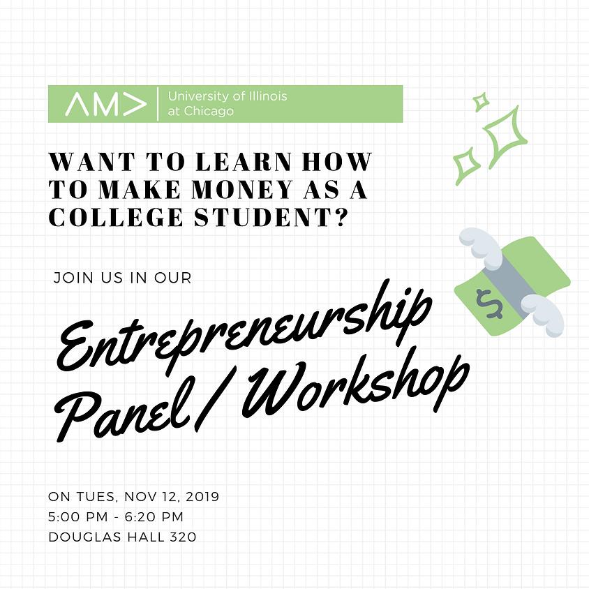 Entrepreneurship Panel/ Workshop