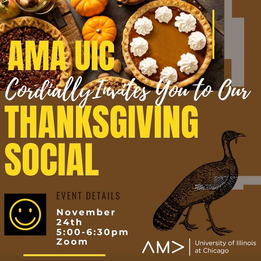 AMA Thanksgiving Social