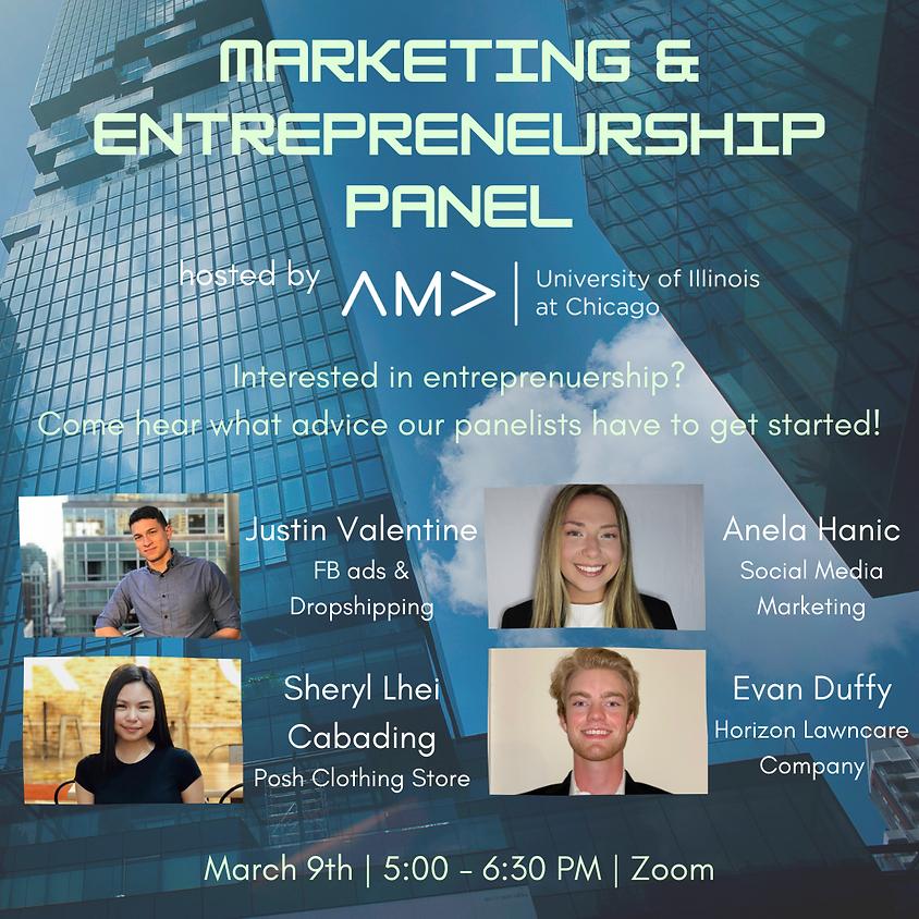 Marketing X Entreprenuer Panel