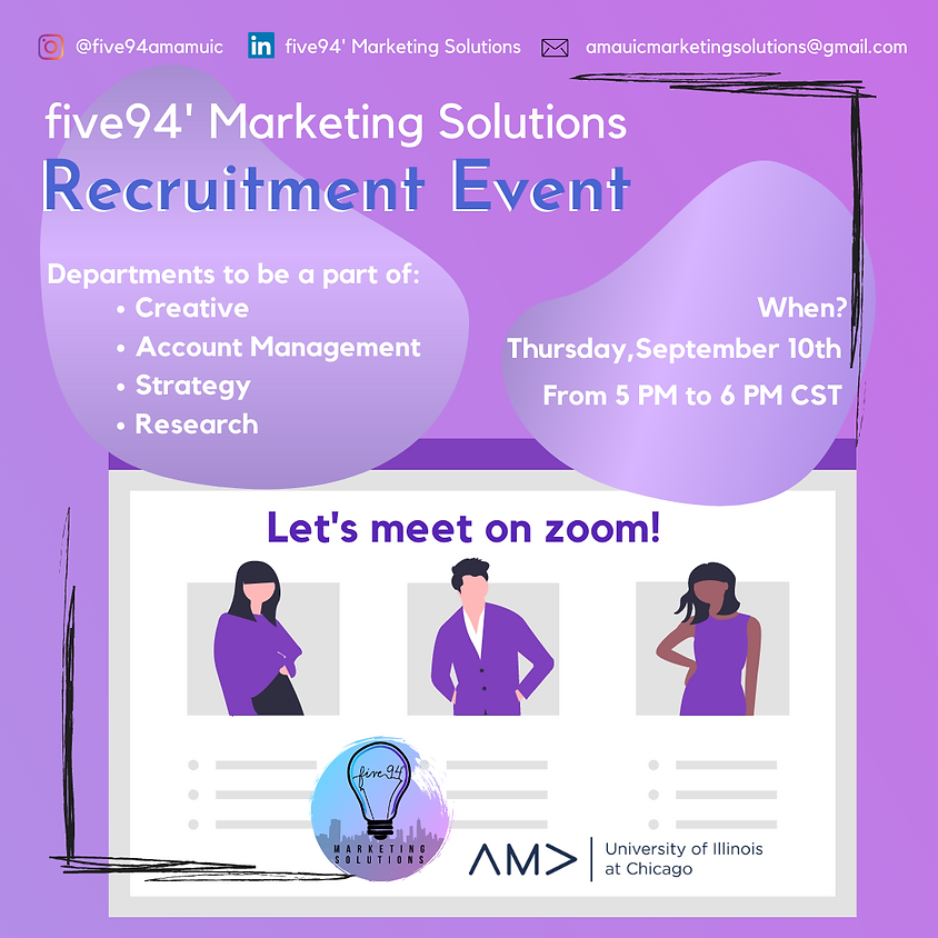five94' Marketing Solutions Recruitment Event