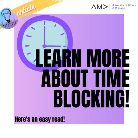 Time Blocking Tip: The Pomodoro Technique
