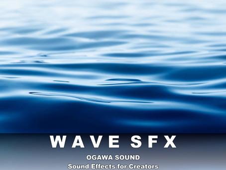波音効果音素材集「WAVE SFX」販売開始しました。