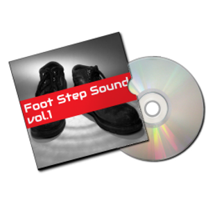 Foot Step sound vol.1 (足音効果音素材集)イメージ