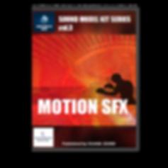 MOTION SFX 人間動作効果音素材集 イメージ