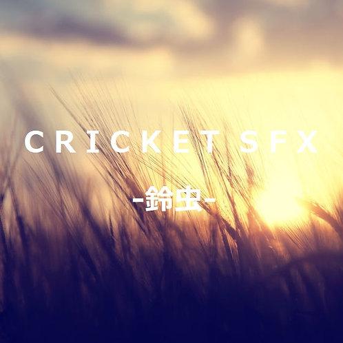 CRICKET SFX -鈴虫- 鈴虫鳴き声素材集 96kHz24bit版
