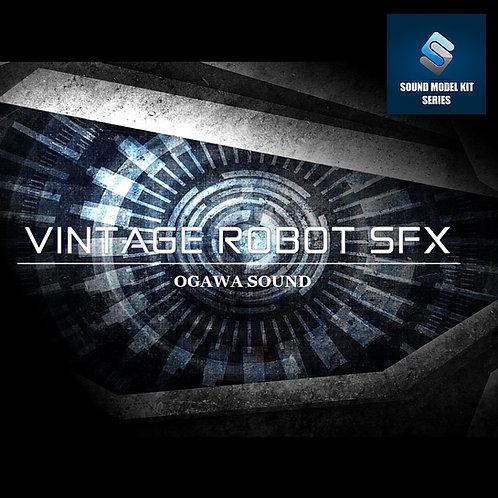 VINTAGE ROBOT SFX ロボット効果音素材集 SOUND MODEL KIT SERIES vol.5 96kHz32bit版