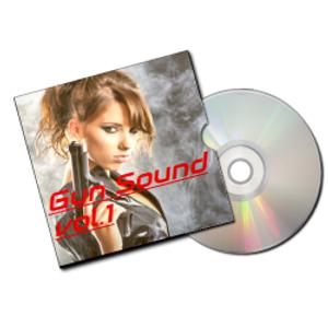 Gun sound vol.1 (銃声効果音素材集)イメージ