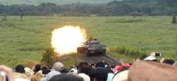 74式戦車射撃