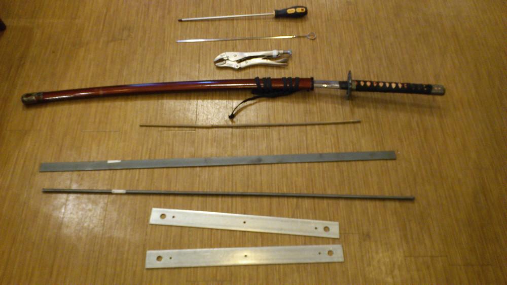 刀の音を作るための道具