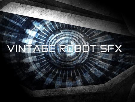 ロボット効果音素材集『VINTAGE ROBOT SFX』予告