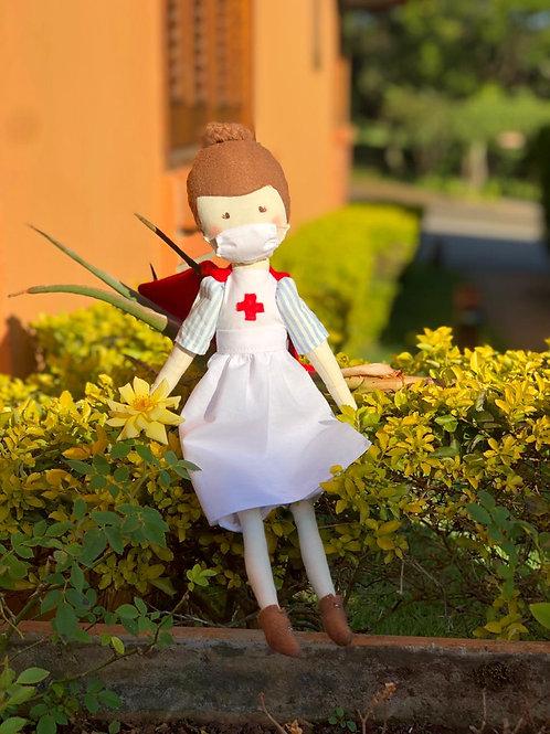 Boneca Anna - Enfermeira Heroína