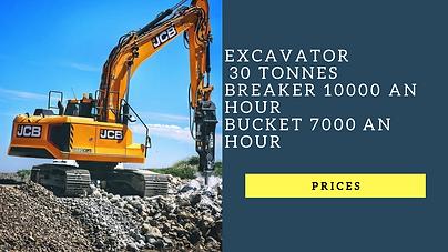 Breaker heavy construction machinery in kenya