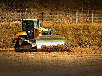 caterpillar komatsu bulldozer construction equipment machinery