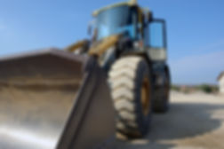 caterpillar Komatsu wheel loader used for roads contruction in Nairobi Kenya. This construction machinery is used in laying materials into trucks, digging clearing gravel. construction equipment