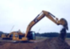 caterpillar excavator construction equipment machinery