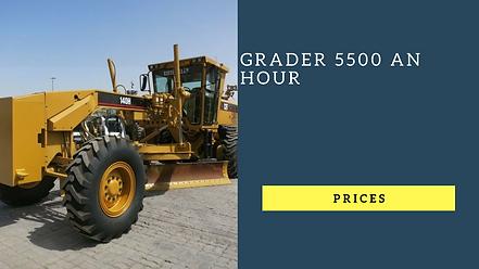 grader heavy construction machinery