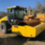 compactor road roller construction equipment machinery