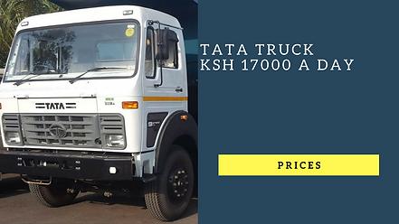 18 tonne tata lorry/truck