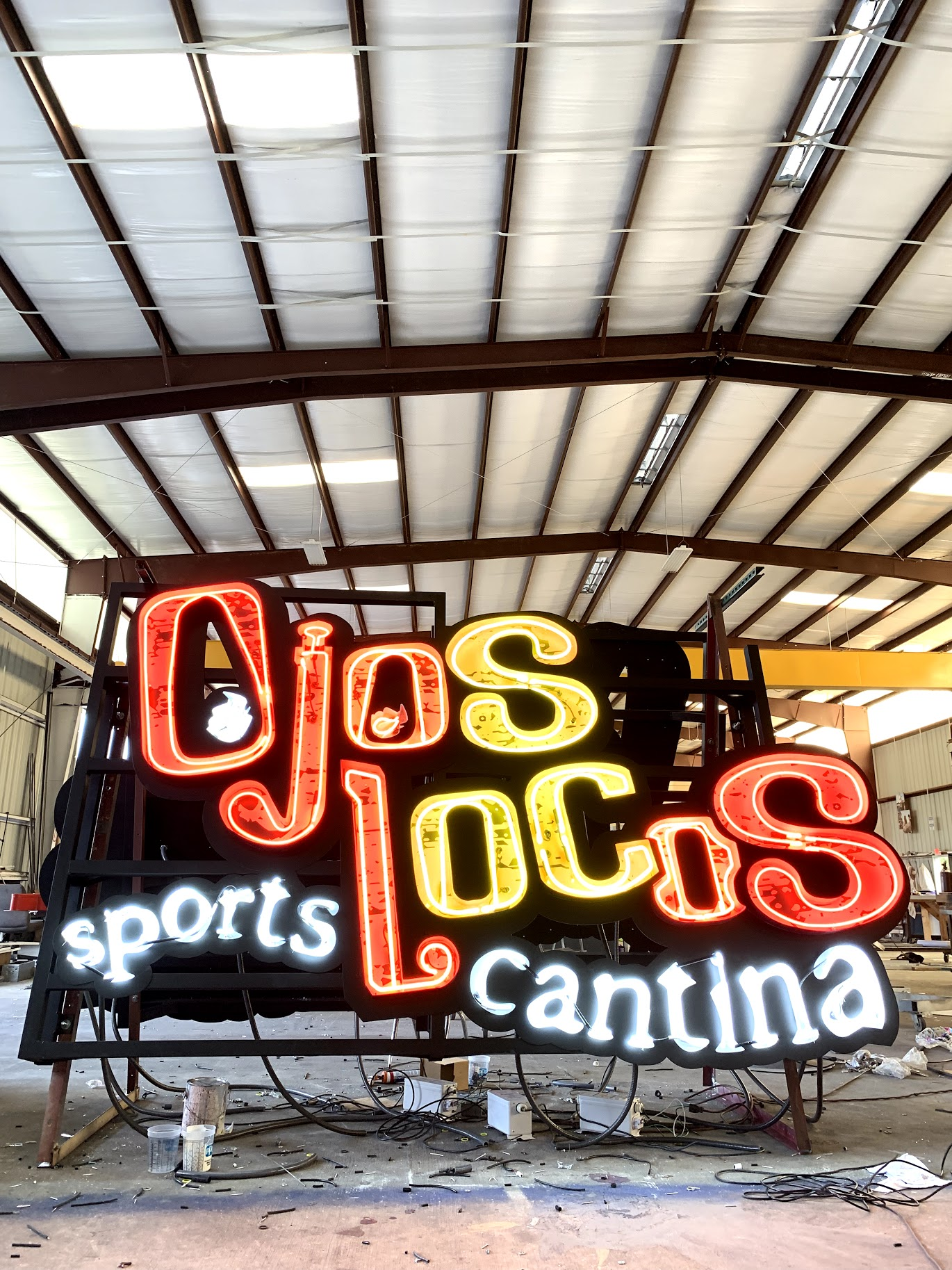 Ojos Locos Sports Cantina - Texas, New Mexico & Arizona
