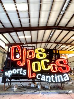 Ojos Locos Sports Cantina - Texas, New Mexico & Arizona