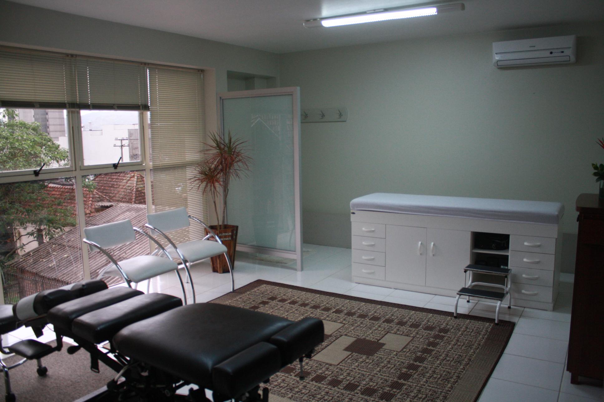 Sala de atendimento Quiropraxia