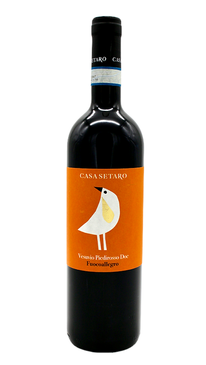 """Fuocoallegro"" Vesuvio Piedirosso (Amphora) 2019 - Casa Setaro"