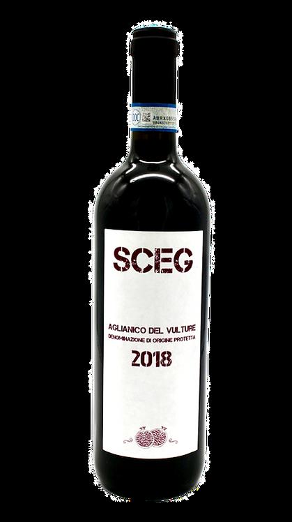 """""""SCEG"""" Aglianico del Vulture 2018 - Elena Fucci"""