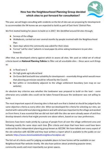 Site Selection Publication - Jan 2021.PN
