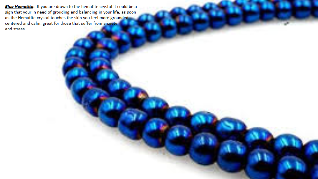 Royal Blue Hematite